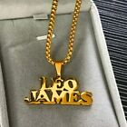 Personalized Custom Name Necklace Gold Choker Necklace Pendant Nameplate Gift