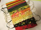 Homemade Fabric Face Masks Reusable Reversible Washable Choose Low Shipping