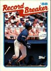 1989 Topps Baseball Scheda # S 1-198 + Rookies - Voi Scegliere - Buy 10+ Cards