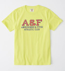 Abercrombie & Fitch A&F Bright Yellow t-shirt for men -  Official - NEW