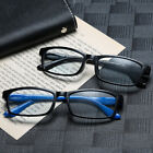 Men Women Fashion Reading Glasses Reader Anti Blue Light Eyeglasses 1.0 to 4.0