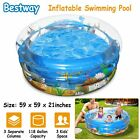 """48""""/59""""/72""""/90"""" Inflatable Swimming Pool Blow Up Foldable Family Pool for Kids"""