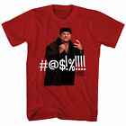 HOME ALONE CURSING T-SHIRT HEATHER RED MENS 90S CHRISTMAS HOLIDAY MOVIE TEE image