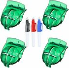 Golf Ball Line Marker Tool Template Liner Value 4 Pack Gift Set With 3 Pens US