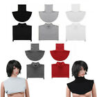 US Faux Turtleneck Neck Dickey False Mock Blouse Half Top Collar Neck Cover
