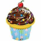 Cupcake Balloons Frosting Sprinkles SuperShape Foil Mylar Happy Birthday Party