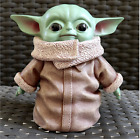 Star Wars Baby Yoda Mandalorian The Child Cute Plush Toy Doll PVC or Resin