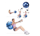 Amber Barbell Body Yoga Gym Exercise Fitness Ball with Resistance Straps image