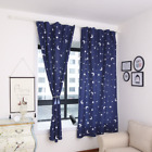 Blackout Curtains Bedroom Shade Privacy Heat Insulation Blackout Vurtains Chic
