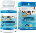 NORDIC NATURALS Children's DHA 250mg Strawberry (Omega-3) 90/180/360 Softgels