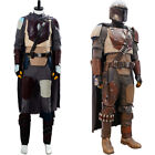 Star Wars The Mandalorian Cosplay Costume Halloween Outfit Uniform Suit Full Set $121.5 USD on eBay