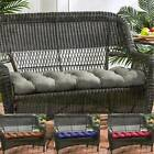 Luxury Replacement Cushion 1-4seater Garden Pation Swing Bench Pads Thick Uk New