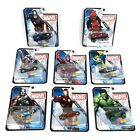 Marvel Hot Wheels Die Cast Collectable Character Cars, Complete Set