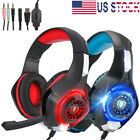 Pro Gamer Ps4 Headset For Playstation 4 Xbox One&pc Computer Headphones Earphone