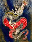 Rising Dragon by Clark North Asian Tattoo Fine Art Print Poster for Framing