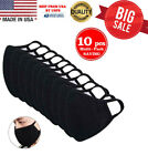 Kyпить Washable 100% Cotton Face Mask Reusable, Black - 10 Pcs in 1 Pack, MADE IN USA на еВаy.соm