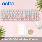Actto KMC-04 Retro Wireless Keyboard and Mouse Combo