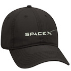 Black Dad cap Customized with SPACE X NASA embroidery design.