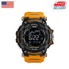 SMAEL Men's Army Military Digital Calendar 50M Waterproof Luminous Sport Watches image