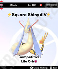 MILOTIC NORMAL /  SHINY  6IV COMPETITIVE VGC '21 - POKEMON SWORD AND SHIELD