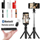 '360° Extendable Wireless Selfie Stick Bluetooth Remote Tripod For Iphone Samsung