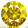 0.70ct HUGE DAZZLING VIVID INTENSE FANCY YELLOW DIAMOND VVS EARTH MINED DIAMOND!