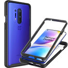For OnePlus 8 Pro Case Full Body Slim Military Clear Shockproof Hard Phone Cover