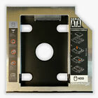 SATA 2nd SSD HDD Hard Drive Caddy Adapter Tray Enclosures for Laptop