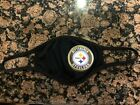 Pittsburgh Steelers Football BLACK Face Mask w 2 Filters (Washable, Reusable) $14.99 USD on eBay