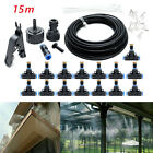 Misting Cooling System Garden Lawn Air Cooler Patio Water Nozzles Sprinkler