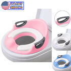 Potty Trainer Toilet Chair Seat For Kids Boys Girls Baby Toddlers Cushion Handle image