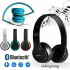 Headphones Bluetooth Headset Noise Cancelling Stereo Over Ear Earphones Wireless