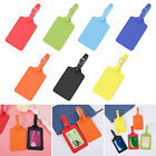 Pendant Leather ID Address Tags Luggage Tag Suitcase Label Baggage Claim