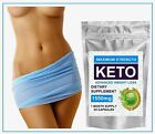 NEW KETO ADVANCED WEIGHT LOSS 60 CAPSULES 1550mg KETO PURE DIET PILLS SUPPLEMENT