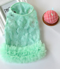 TONY HOBY Small Dogs Lace Shirt Dress Dog Pettiskirt Sweet Pet Puppy Cat Clothes