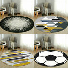 HOT Non-slip Round Floor Mat Rotray Chair Foot Mats Sitting Pad Bedroom Area Rug