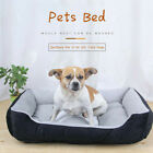 Large Dog Bed Pet Cushion Bed House Soft Blanket Nest Kennel Washable Puppy Warm