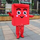 Lucky Red Envelope Bag Cartoon Character Mascot Costume Christmas Adult Costume