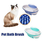 Dog Cat Pet Brush Pet Supplies Cleaning Comb Silicone Bath Hair Removal Brush