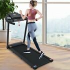2.5HP Folding Treadmill Electric Motorized Power 12KM/H Running Fitness Machine