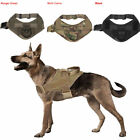 Tactical K9 Training Service Dog Harness Nylon Dog Vest with Handle Control