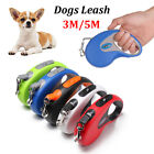 Retractable Flexible  Belt Traction Rope Dog Leads Cord Tape Dogs Leash