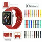 Apple Watch Series 1 2 3 4 5 Sport Silicone Replacement Strap Band 38 40 42 44mm