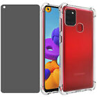 For Samsung Galaxy A21s/A21 Privacy Anti-Spy Tempered Glass Screen Protector