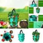 Garden Hanging Planter Grow Bag Plant Pouch Tomato Strawberry Flower Herb Bags