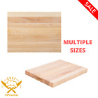 Wood Commercial Restaurant Solid Cutting Board Butcher Block New MULTIPLE SIZES