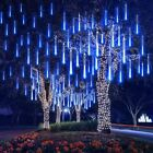 144 LED Solar Meteor Shower String Lights Tree Lamp / 100 LED String Light Xmas