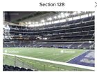 Kyпить 4 DALLAS COWBOYS TICKETS vs New York Giants (SECTION 128 ROW 6 LOWER LEVEL) на еВаy.соm