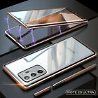 For Samsung Galaxy Note 20/20 Ultra Magnetic Metal Double-Side Glass Case Cover