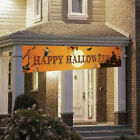 Happy Halloween Bloody Bat Ghost Pumpkin Print Party Backdrop Hanging Banner